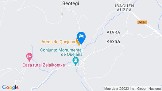 Arcos de Quejana Map