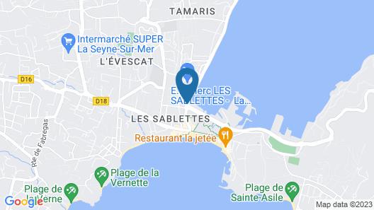 Rives d'Or Hôtel Map
