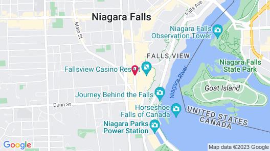Four Points by Sheraton Niagara Falls Fallsview Map