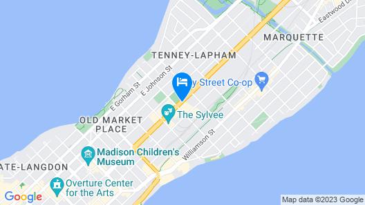 Hotel Indigo Madison Downtown Map