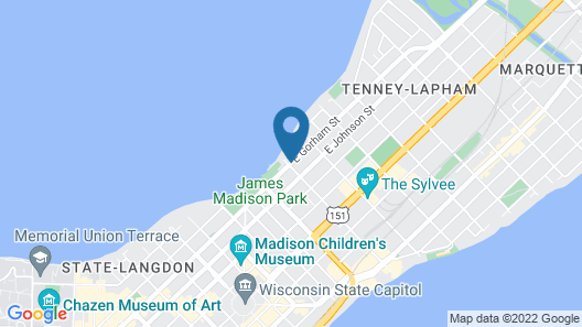 Mendota Lake House Inn Map