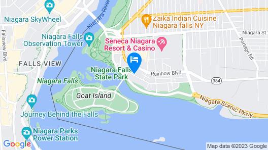 Holiday Inn Niagara Falls Scenic Downtown, an IHG Hotel Map