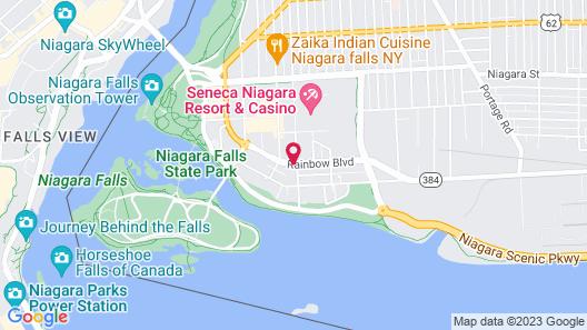 Wingate By Wyndham Niagara Falls Map