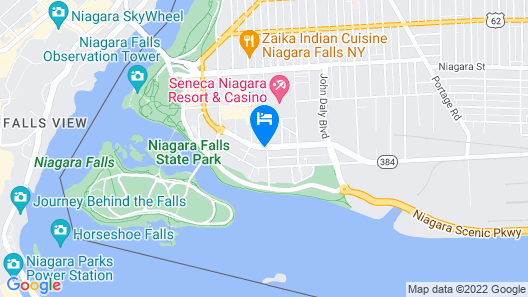 Wingate By Wyndham Niagara Falls Map
