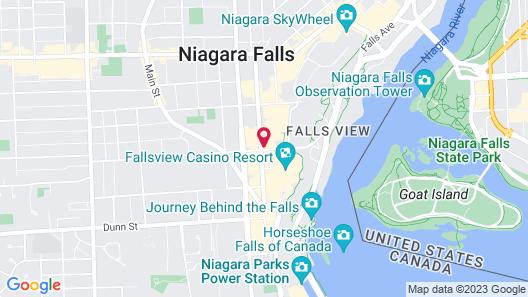 Holiday Inn Niagara Falls - By The Falls, an IHG Hotel Map