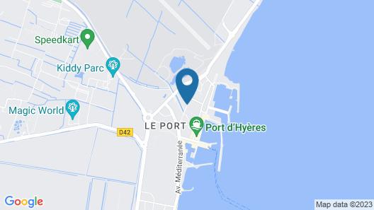 Studio 402 pour 4 personnes Hyères. Map