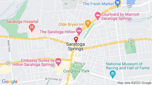 Saratoga Arms Map