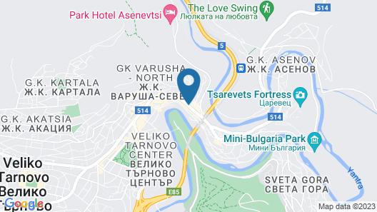 Stambolov Hotel Veliko Tarnovo Map