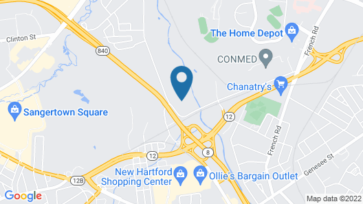 New Hartford Hotel Map