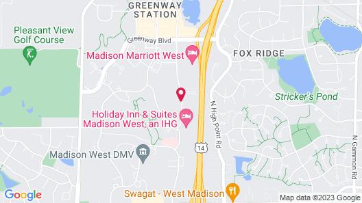 Comfort Suites Madison Map