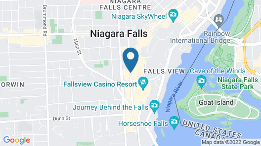 Fallsview Hotel Map