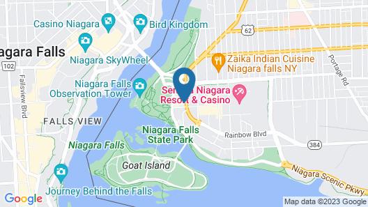 Hyatt Place Niagara Falls Map