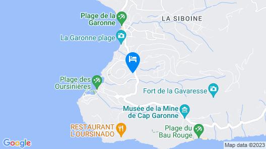 La Bastide des pins Map