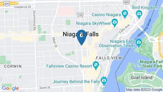Ramada by Wyndham Niagara Falls/Fallsview Map