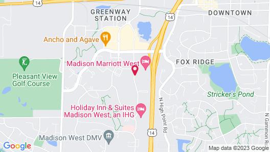 Marriott Madison West Map