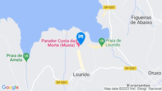 Parador Costa da Morte Map