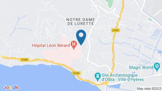 Village Club La Font des Horts Map