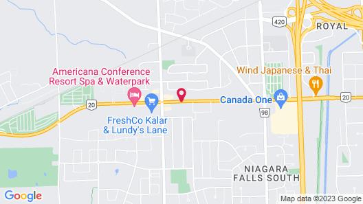Howard Johnson by Wyndham Niagara Falls Map