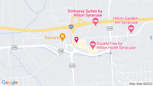 Candlewood Suites East Syracuse - Carrier Circle, an IHG Hotel Map