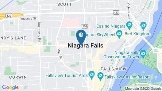 W Inn Map
