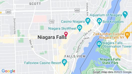 Days Inn by Wyndham Niagara Falls Near The Falls Map