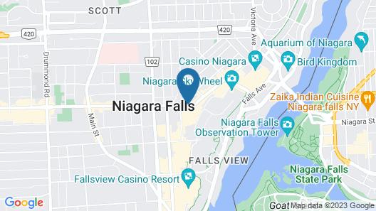 Fairfield by Marriott Niagara Falls, Canada Map