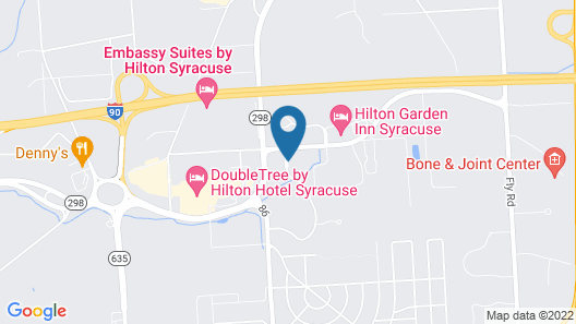 Cresthill Suites Syracuse Map
