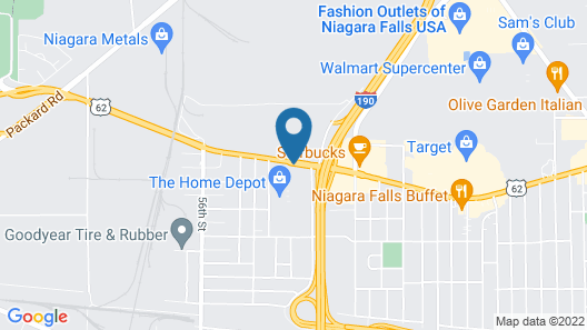 La Quinta Inn & Suites by Wyndham Niagara Falls Map