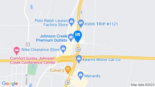 Days Inn by Wyndham Johnson Creek Map