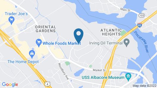 Homewood Suites by Hilton Portsmouth Map