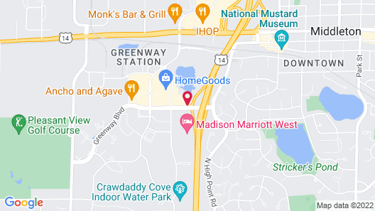 Fairfield Inn & Suites by Marriott Madison West/Middleton Map