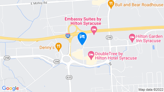 Best Western Plus East Syracuse Inn Map