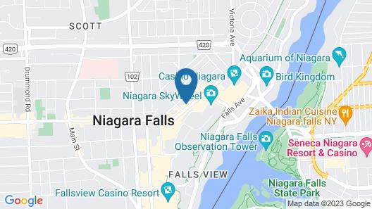 Vittoria Hotel and Suites Map