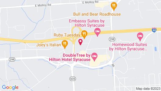 Residence Inn Syracuse Carrier Circle Map