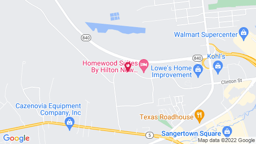 Homewood Suites by Hilton New Hartford Utica Map