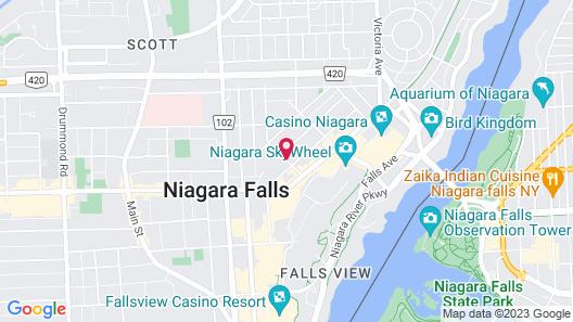 Sterling Inn & Spa - an Ontario's Finest Inn Map
