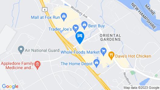 Motel 6 Portsmouth, NH Map