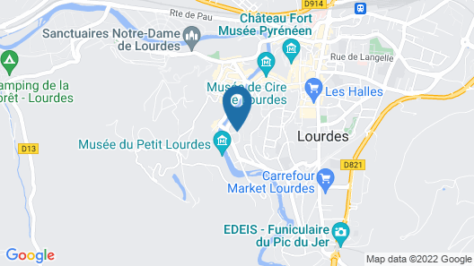 Residence Le Soleil Map