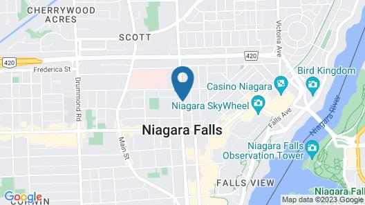 SureStay Plus Hotel by Best Western Niagara Falls Ontario Map