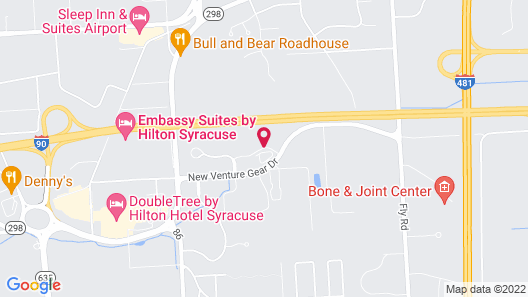Homewood Suites by Hilton Syracuse - Carrier Circle Map