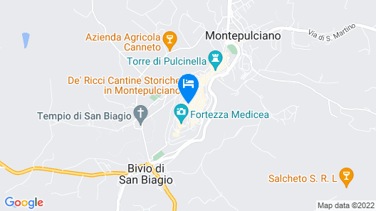 Palazzo Nobile di San Donato Map