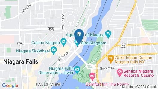 Travelodge by Wyndham Niagara Falls Fallsview Map