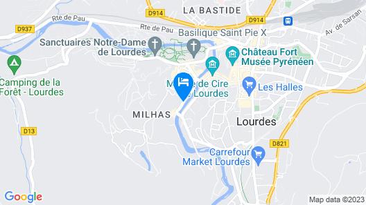Hôtel Beau Site Map