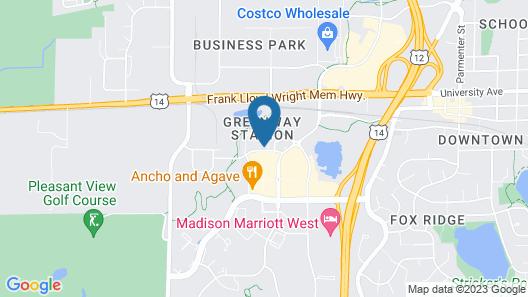 Residence Inn by Marriott Madison West/Middleton Map