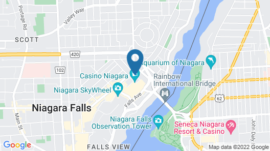 Skyline Hotel & Waterpark Map
