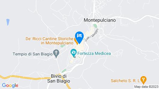 Hotel La Terrazza di Montepulciano Map