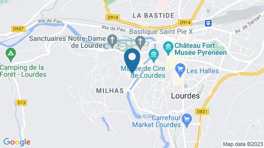 Hôtel Angelic Map