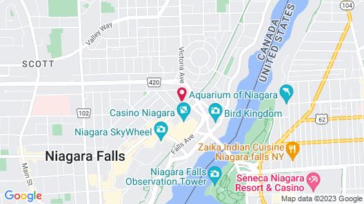 Country Inn & Suites by Radisson, Niagara Falls, ON Map