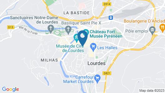 Croix de Malte Map