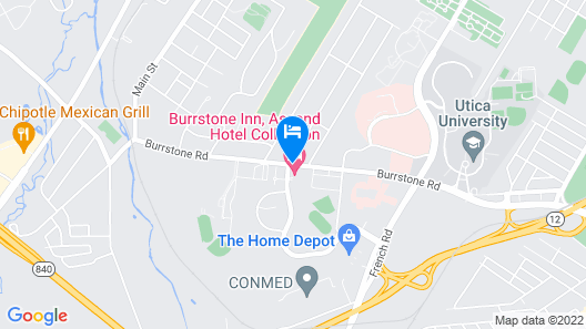 Burrstone Inn, Ascend Hotel Collection Map